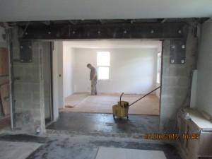 Steel Beam Installation