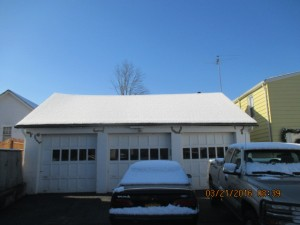 Provided an inspection and report of findings and solutions for a deflecting garage roof.