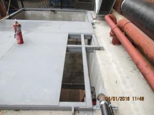 Engineering and Design: Steel Framed Pit Cover for Adelphi University.