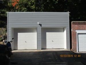 Engineering & Design: Rebuilding old residential garage.
