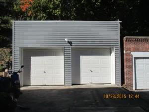 Engineering & Design: Rebuilding old residential garage.