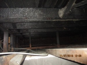 Inspection: Provided a structural report on fire damage.